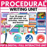 Perfect Procedural Writing Unit ( Self Directed Digital & Print Modules )