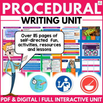 Perfect Procedural Writing Unit ( Self Directed Digital & Print Modules )