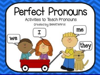 Perfect Pronouns Packet
