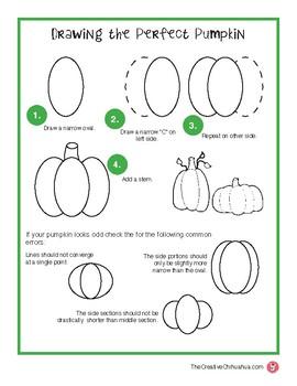 Perfect Pumpkin Drawing Guide