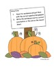 Common Core Aligned: Perfect Pumpkin Punctuation