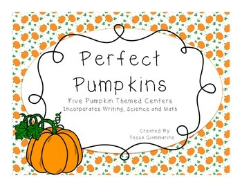Perfect Pumpkin Science Centers