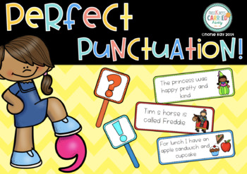 'Perfect Punctuation'- Literacy Centre Activity
