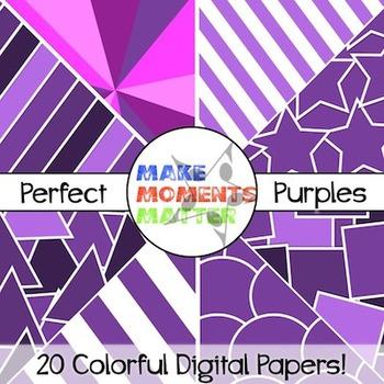 Perfect Purples - Digital Paper Pack