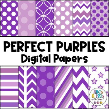 Perfect Purples Digital Paper Pack