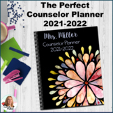 Perfect School Counselor Planner Binder - 2021-2022