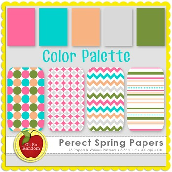 Perfect Spring {Papers for Commercial Use}