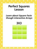 Perfect Squares Interactive multiplication lesson plan