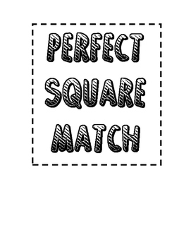 Perfect Square Match Up