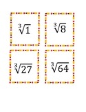 Perfect Square Root and Cube Root Flashcards