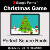 Perfect Square Roots   Christmas Decoration Game   Google Forms