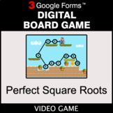 Perfect Square Roots - Digital Board Game | Google Forms