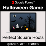 Perfect Square Roots | Halloween Decoration Game | Google Forms