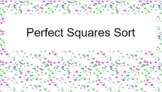 Perfect Square Sort
