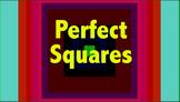 Perfect Square, Square Root Video,ppt,bellringer,worksheet bundle