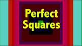 Perfect Square, Square Root Video,ppt,bellringer,worksheet bundle