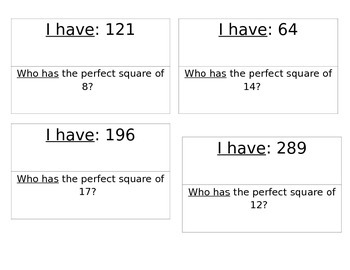 Perfect Square Zip Around