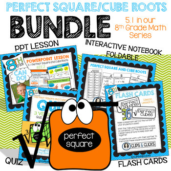 Perfect Square and Cube Roots BUNDLE