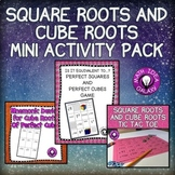Square Roots and Cube Roots Activity Bundle
