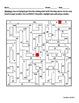 Perfect Squares Maze Activity