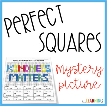 Perfect Squares Mystery Picture