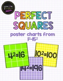 Perfect Squares Poster Charts