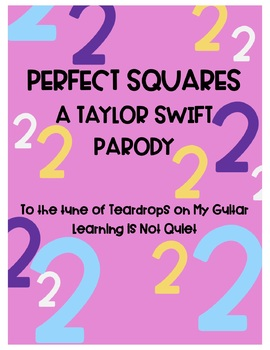 Perfect Squares Song (Taylor Swift Teardrops on my Guitar) (Song, Wrksht, Video)