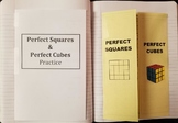 Perfect Squares & Square Roots  / Perfect Cubes & Cube Roots (foldables)