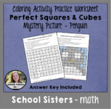 Perfect Squares and Cubes Mystery Picture