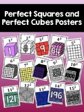 Perfect Squares and Perfect Cubes Posters