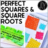 Perfect Squares and Square Roots Activities