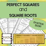 Perfect Squares and Square Roots Practice Book!