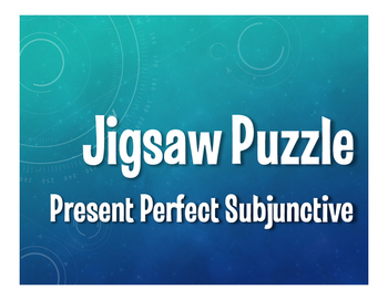 Spanish Present Perfect Subjunctive Jigsaw Puzzle