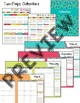 Perfect Teacher Planner - Turquoise Dots (Editable!)