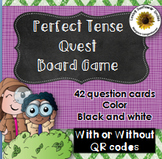 Perfect Tense Board Game (with or without QR codes)