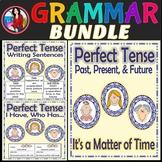 Perfect Tense Bundle, Activity, Writing, Game