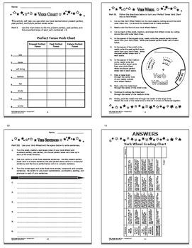 Perfect Tense Verbs and Task Cards Bundle – 5th Grade Grammar Practice
