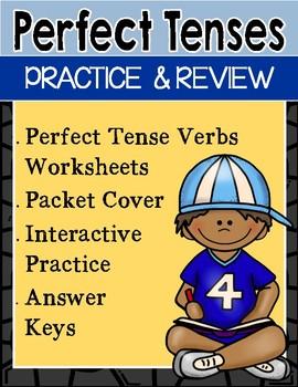 Perfect Tense Verbs Activities