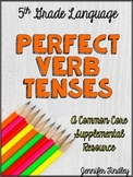 Perfect Tense Verbs (L.5.1b)