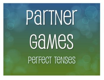 Spanish Perfect Tenses Partner Games