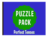 Spanish Perfect Tenses Puzzle Pack