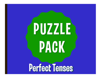 Spanish Perfect Tenses Puzzle Pack