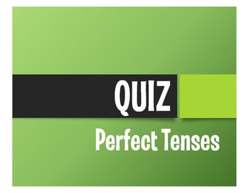 Spanish Perfect Tenses Quiz