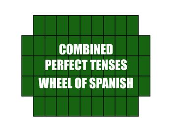 Spanish Perfect Tenses Wheel of Spanish