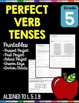 Perfect Verb Tenses L.5.1.B