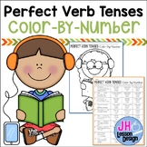 Perfect Verb Tenses: Color-By-Number