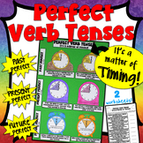 Perfect Verb Tenses Craftivity