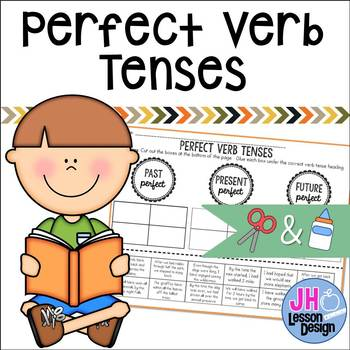 Perfect Verb Tenses: Cut and Paste Sorting Activity