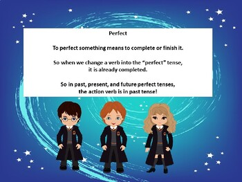 Perfect Verb Tenses Power Point