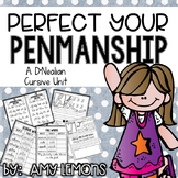 Perfect Your Penmanship {A D'Nealian Cursive Handwriting Unit}